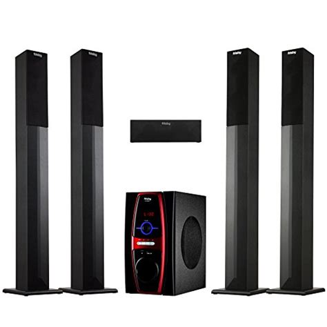frisby fs 6600bt 5 1 channel stereo home theater system w