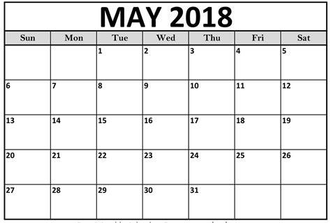 blank calendar template 2018 may 2018 calendar template printable business calendar