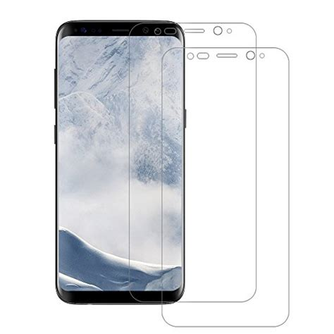 Samsung S8 Anti Air Pellicola Protettiva Samsung Galaxy S8 Poophuns 2 Pack