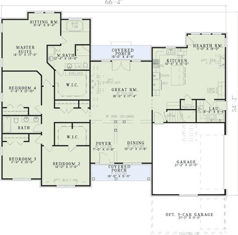 wide open floor plans wide open floor plan 59127nd 1st floor master suite
