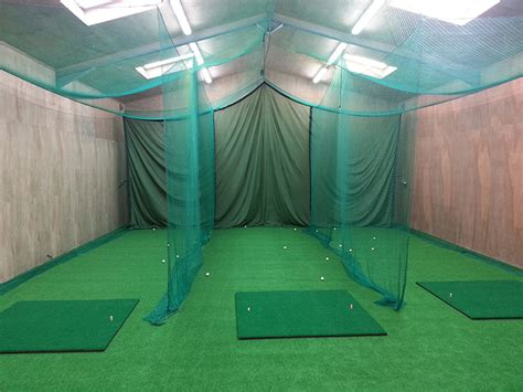 Indoor Golf Practice Net And Mat by S Promotions Golf Course Products Manufactured In Scotland
