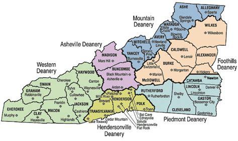 map of western carolina images