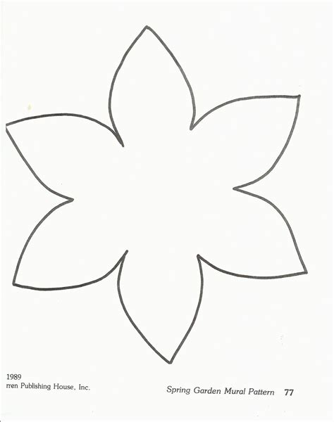 Template Of A Daffodil by Paper Paper Daffodil Template