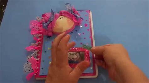 como hacer un jardinero de fomi paso a paso de como personalizar un cuaderno con fomi