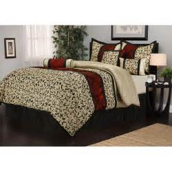 7 bedding comforter set walmart