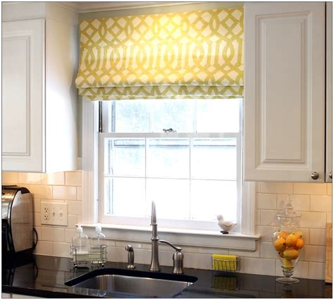 ideas for kitchen curtains kitchen bay window curtain ideas kitchentoday