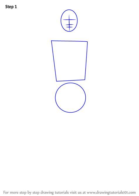 Learn How to Draw Itachi Uchiha from Naruto (Naruto) Step