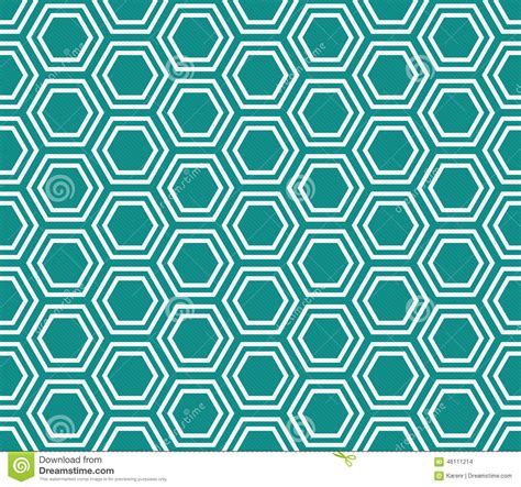 repeat pattern web background teal and white hexagon tiles pattern repeat background