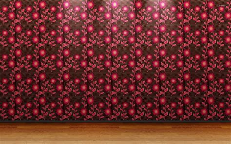 pink wallpaper for walls pink floral wall pattern wallpaper digital art