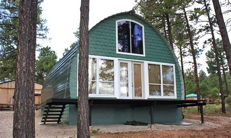 galiano green build your own home without the high cost prefabricated arched cabins can provide a warm home for