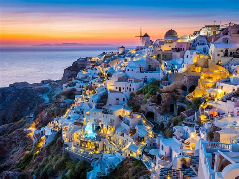 guide to santorini honeymoon the most place in