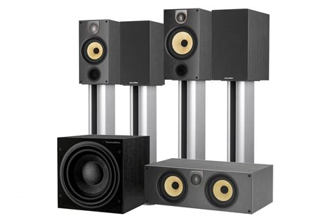 bowers wilkins 685 s2 theatre 5 1 home theater system