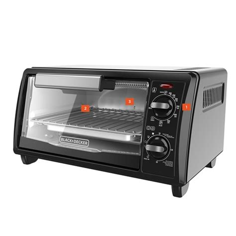 Black Decker Countertop Oven Manual by 4 Slice Toaster Oven Black And Decker
