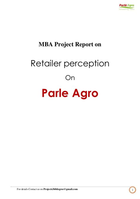 Mba Project Report On Green Marketing by Customer Satisfaction Retailer Beverages Mba Projects