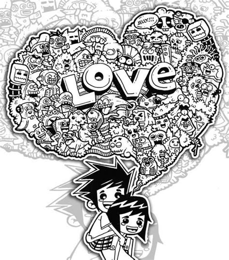 how to draw doodle pdf 26 adorable doodle artwork for your inspiration