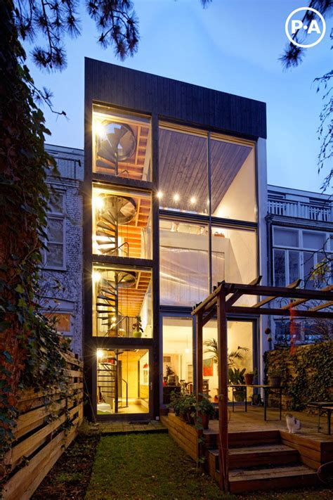 4 story modern house modern house cool netherlands house with four story spiral staircase