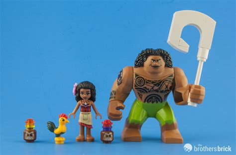 Lego Moana lego disney 41150 moana s voyage review the