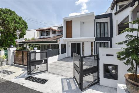 malaysia house designs modern house hidden tree terrace house by yong studio sdn bhd
