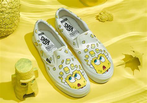 Sepatu Vans X Spongebob Spongebob Squarepants X Vans Release Info Sneakernews