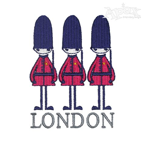 embroidery design london london queen s guard embroidery design