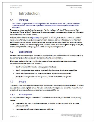 church risk management plan template risk management plan template doc business letter template