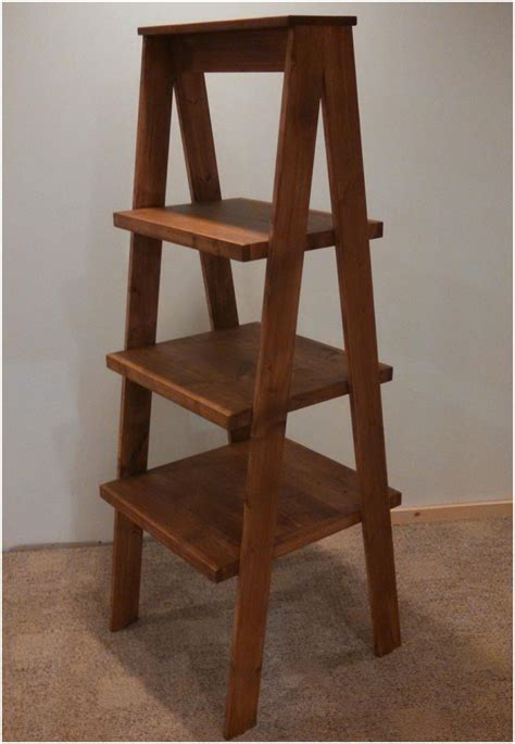 wooden ladder shelf nz rustic ladder shelves and end