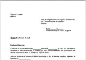 Demande De Préavis Lettre Modele Lettre Preavis Bail Proprietaire Document