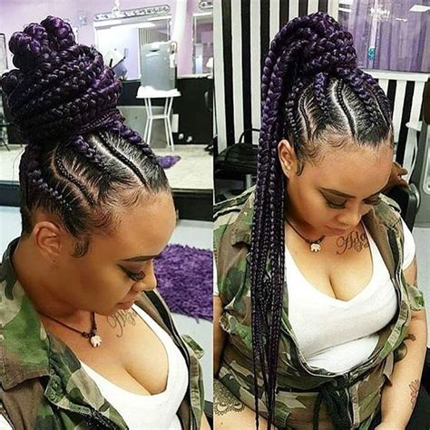 cornrow hair to buy different colour love this braided ponytail braids by twosisters pretty