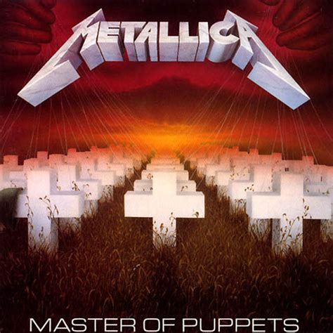 Master Of Puppets Metal Metallica Master Of Puppets