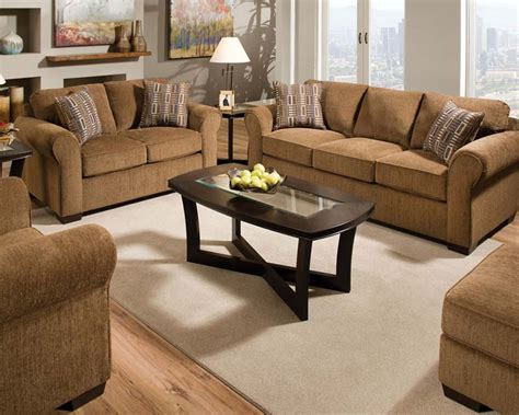 fabric sofa set fabric sofa set torilyn walnut by acme furniture ac51235set