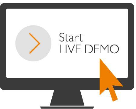 start live demo camius.com