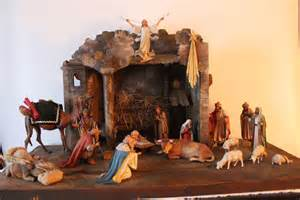 carved wood nativity set by a master german carver sold on