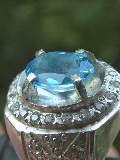 Batu Lablador Ring Perak 926 Istimewa soldout blue topaz ring perak toko permata batu mulia ruby safir zamrud