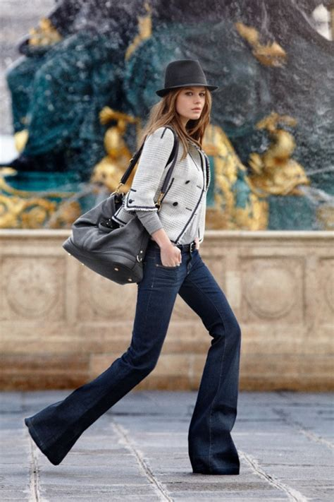 are flare jeans in style in 2015 are flared jeans trousers back in style how to wear