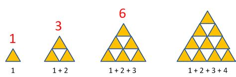triangle pattern numbers triangle numbers follow the sequence worksheet edplace