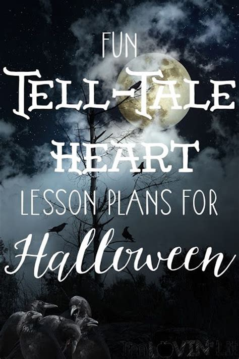 edgar allan poe biography lesson plan more halloween fun the tell tale heart lesson plans