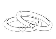 Eheringe Zum Ausmalen by Malvorlagen F 252 R Verliebte Zum Thema Liebe