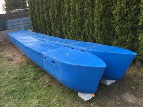ebay kleinanzeigen catamaran hausboot ponton katamaran schwimmk 246 rper plattform rumpf