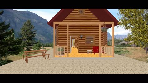 Conestoga Log Cabins by Conestoga Log Cabin Kit Tour 17 X 31 Vacationer Model