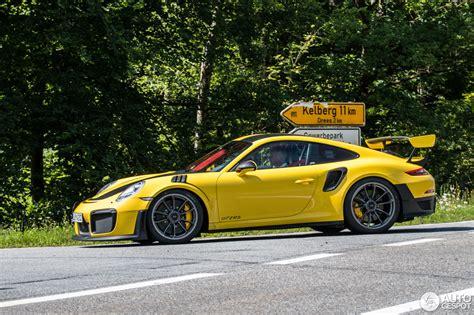 Porsche Gt2 991 by Porsche 991 Gt2 Rs Weissach Package 18 Juli 2017