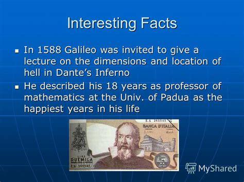 galileo biography facts презентация на тему quot galileo galilei early years born 15