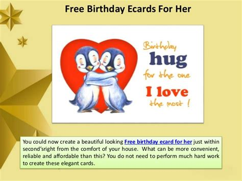 free printable birthday ecards free printable birthday cards for her gangcraft net