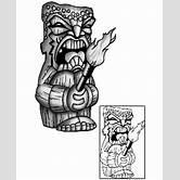 tiki-tattoo-designs