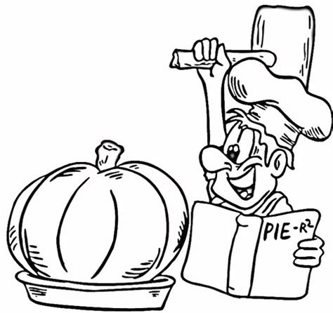 coloring pages of pumpkin pie cooking a pumpkin pie coloring page free printable