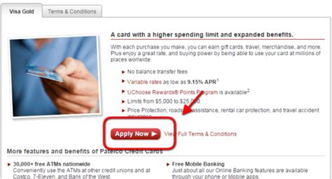union bank credit card apply patelco credit union credit card how to apply