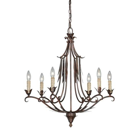 hton bay 6 light chandelier hton bay 6 light chandelier hton bay 6 light mahogany