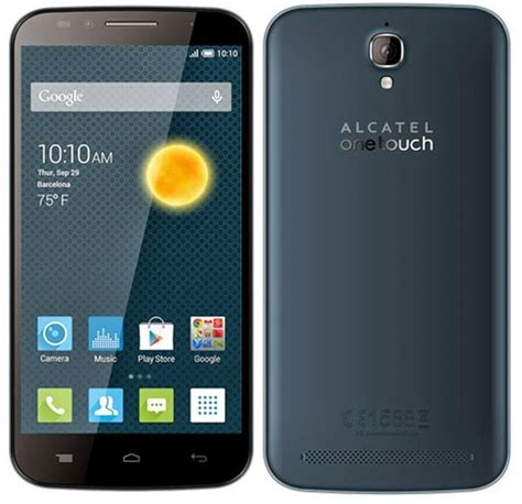 Alcatel Flash Plus Hp Selfie Kamera Depan 8mp Alcatel Onetouch Flash Plus Phablet 5 5 Inch Dengan Rear 13mp Selfie 8mp