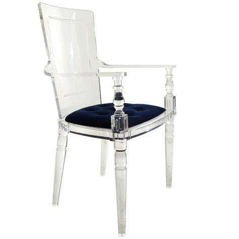 Lucite Armchair by Lucite Dining Armchair For Sale At 1stdibs