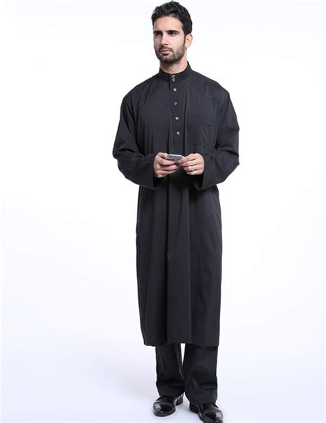 Modern Country Fashion by Muslim Arab Middle East Men S Robe Set Indonesia Clothing