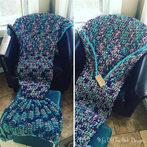 mermaid tail pattern blanket crochet mermaid blanket tutorial youtube video diy